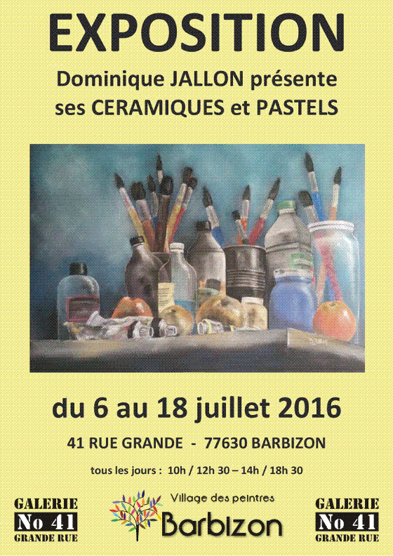 Expo Dominique Jallon-07/2016
