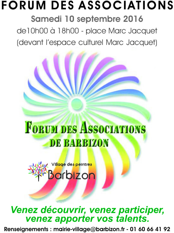 Barbizon forum association 2016t