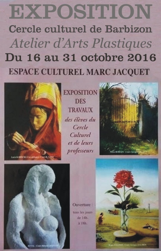 Barbizon Expo_cercle culturel 2016