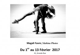 EXPOSITION DE PHOTOS MAGALI FAVRE