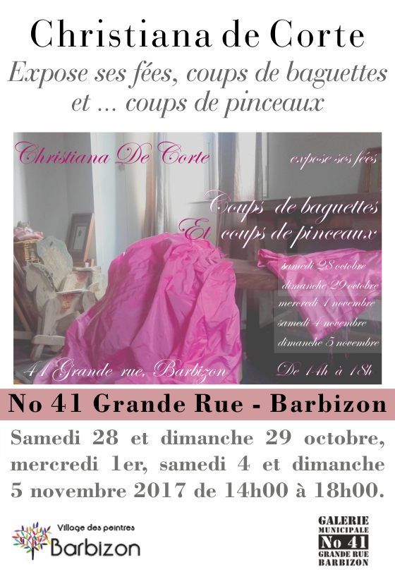 Barbizon_Affiche Exposition No41 de Christiana de Corte-20171028
