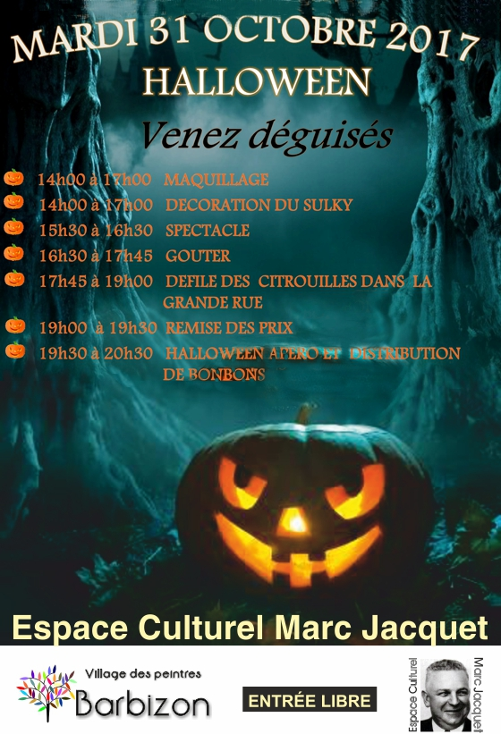 Barbizon_Affiche Halloweeen-2017