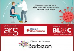 AFFICHE OPERATION DEPISTAGE COVID 19